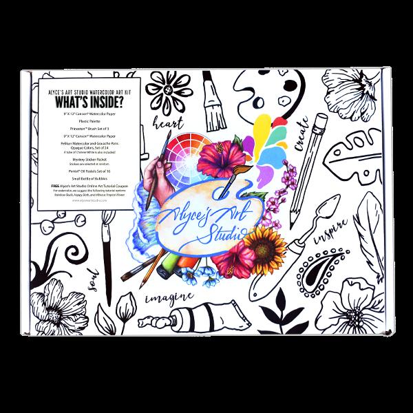 Watercolor Kit Box