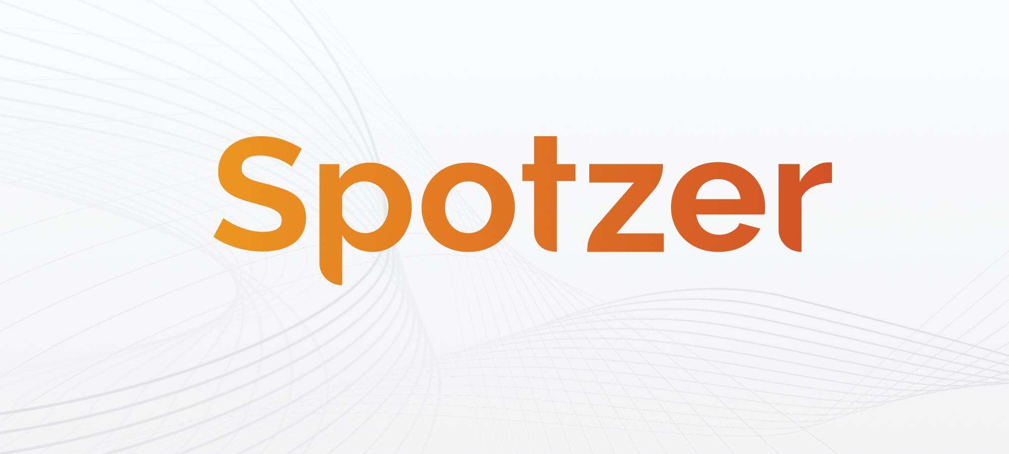 New Spotzer logo banner image