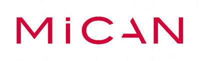 The logo of the japanese company MiCAN technologies.
