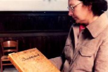 Doopboek met die Krige-stamvader se naam daarin