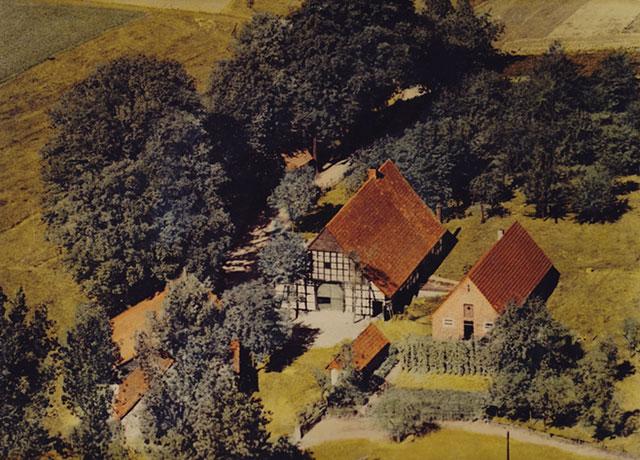 Lugfoto van Kriege-opstal, 1950