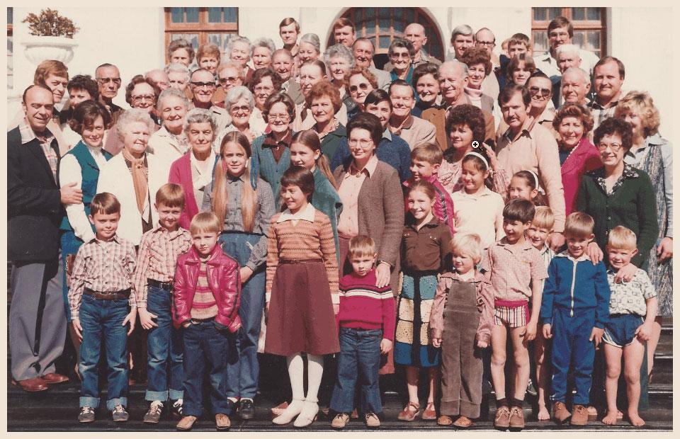 1981 Krige-ledevergadering op Buffelspoort naby Rustenburg