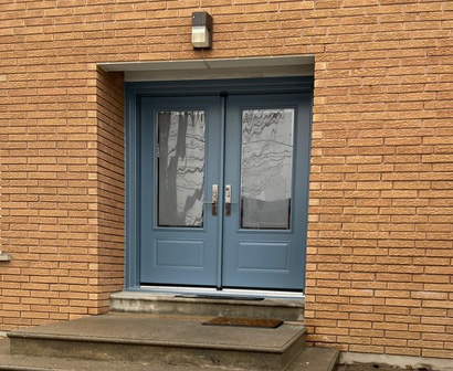 Replacement of front doors in Toronto