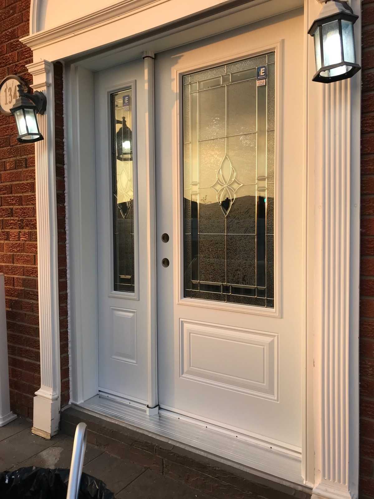 Replacing Front Door in Vaughan