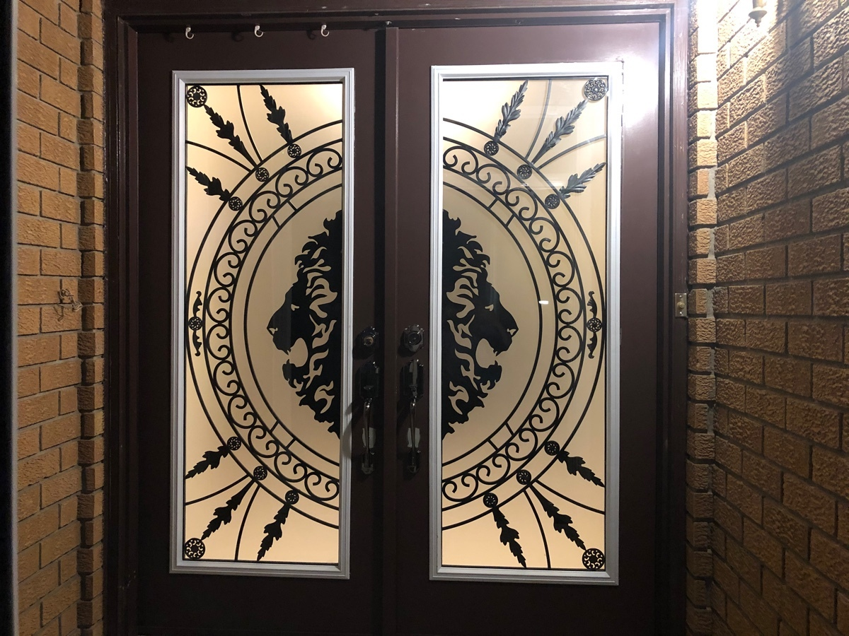 Refurbished the Front Door in Pickering