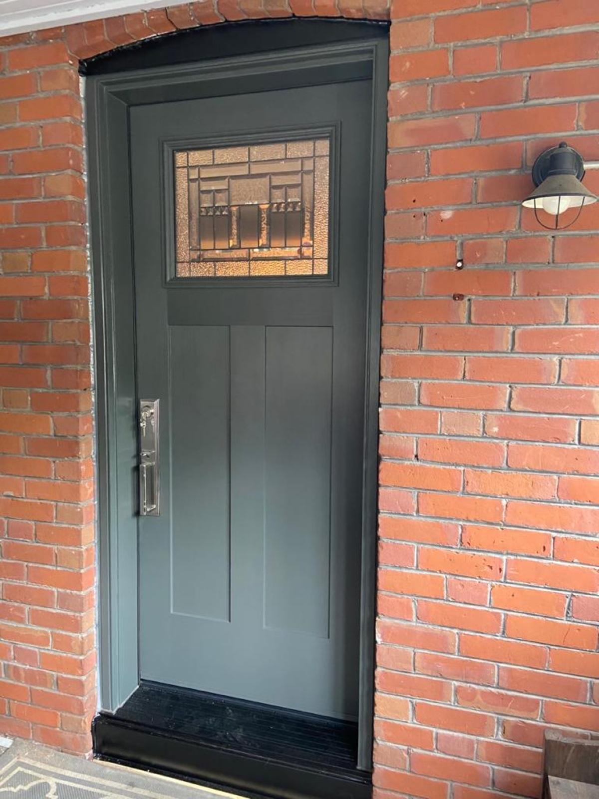Replacing a door in Toronto
