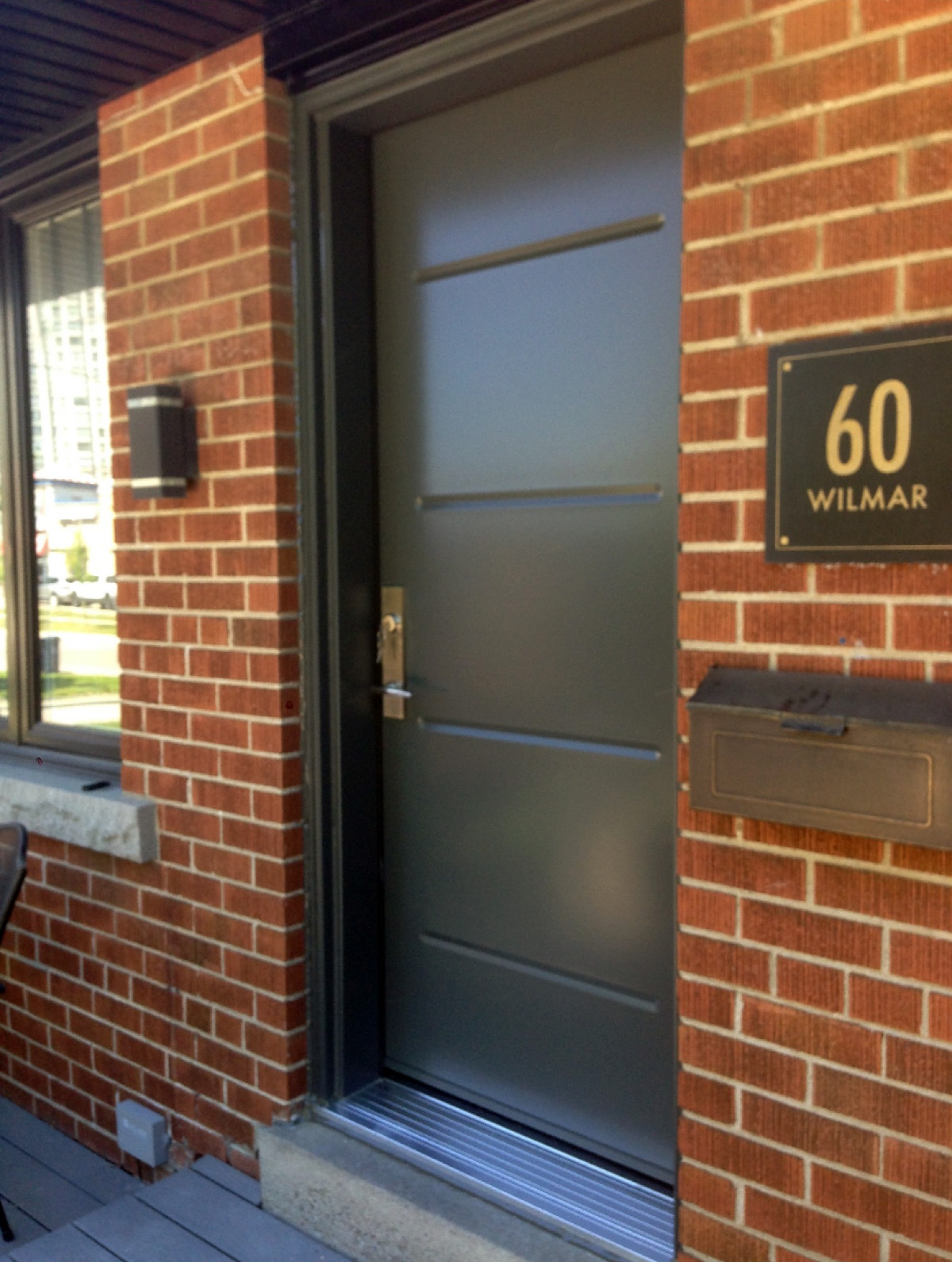 Front door installation in Mississauga