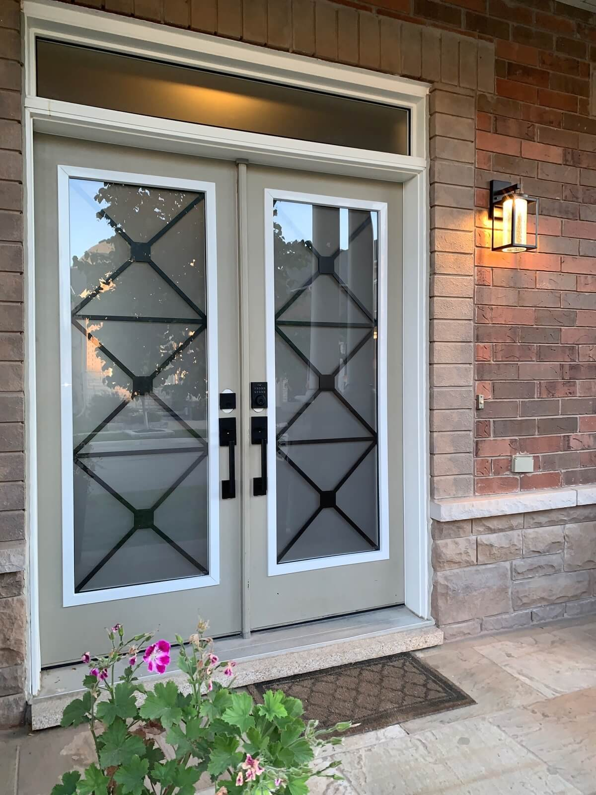 Entry Door Remodel in Milton