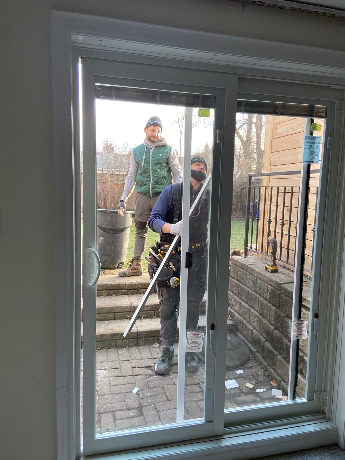 Patio door replacement in Toronto