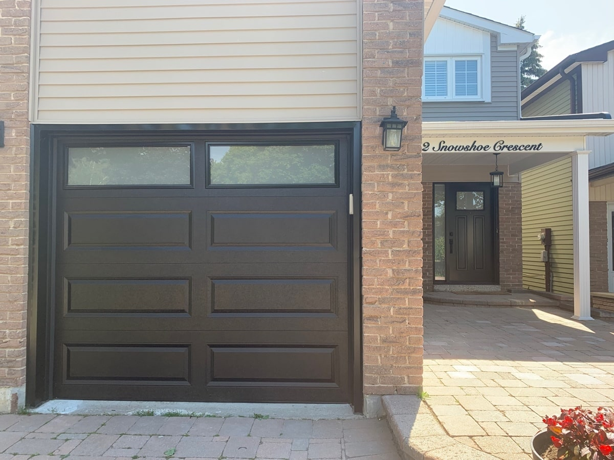 Garage and front doors replacement in Markham