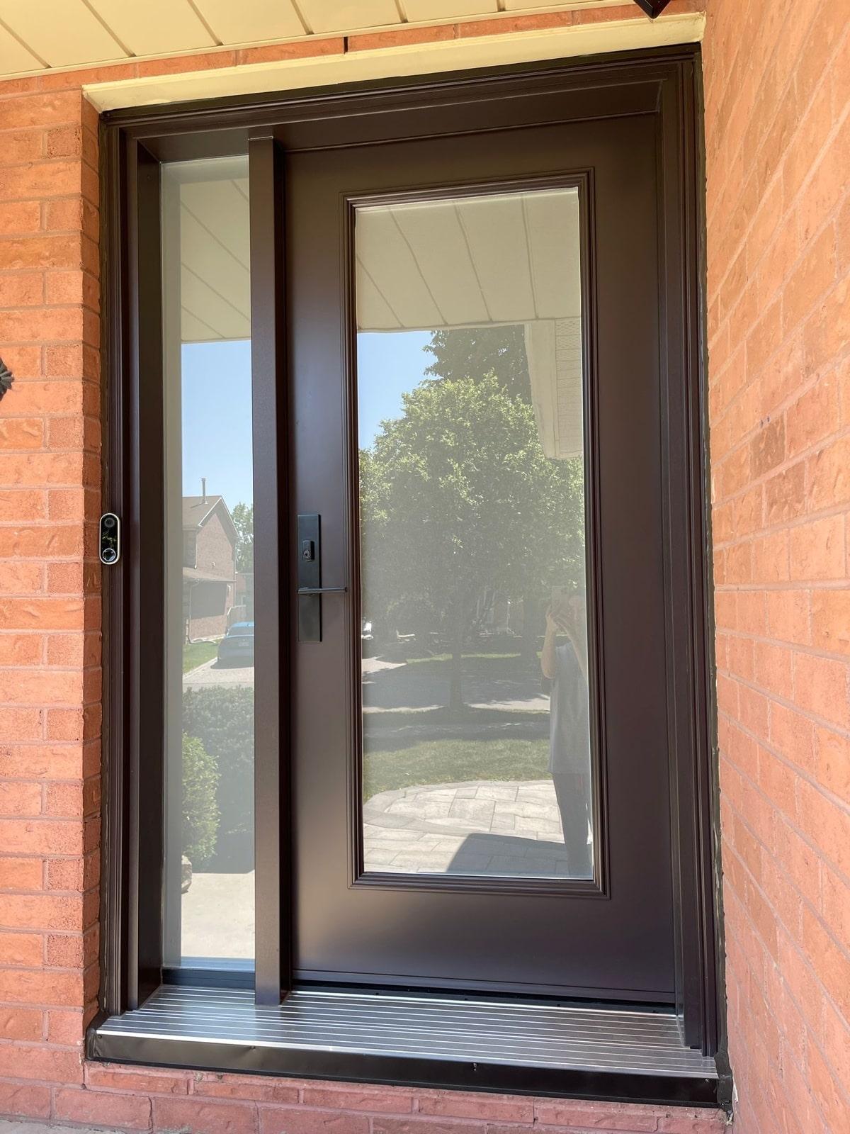 New door installation in Vaughan
