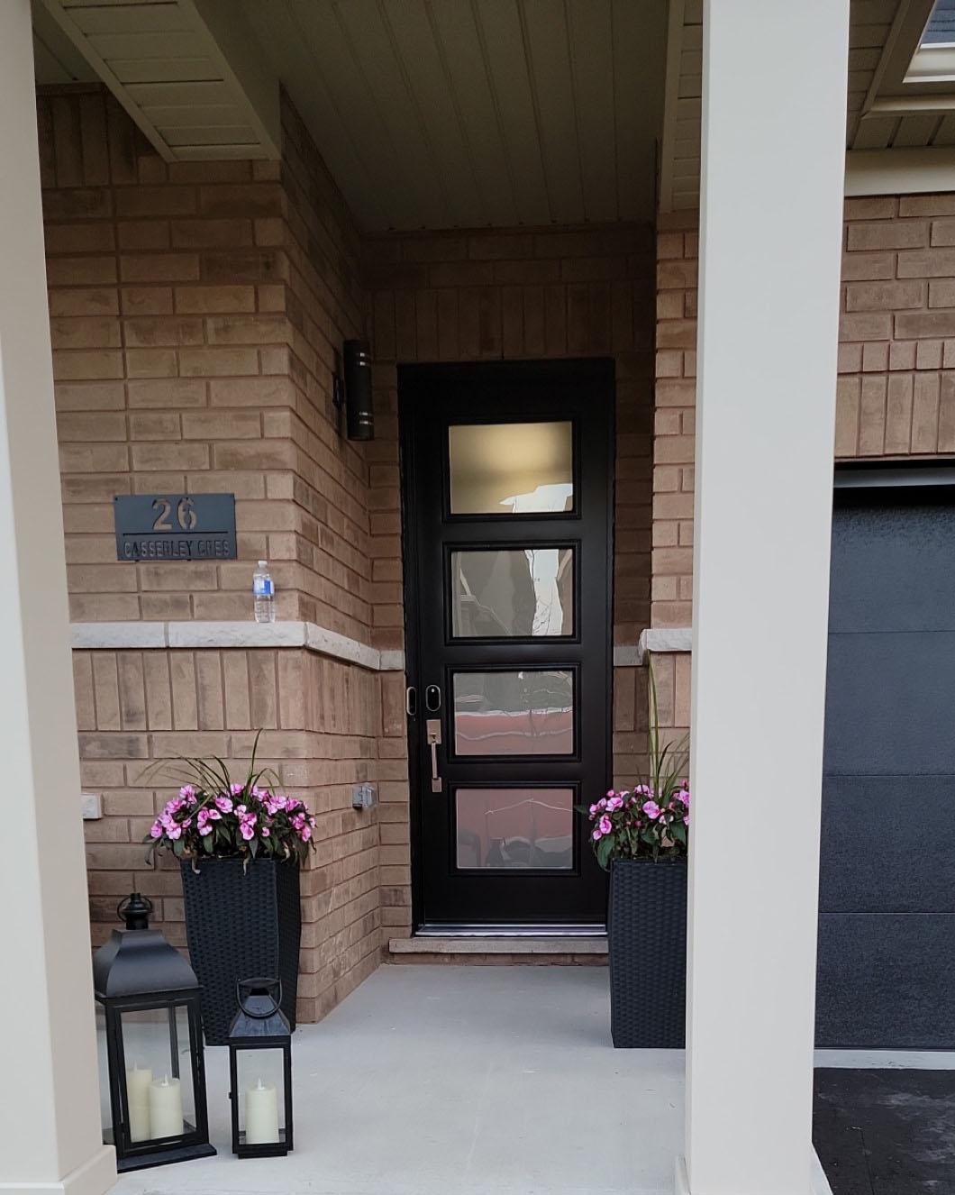 New door installation in Toronto