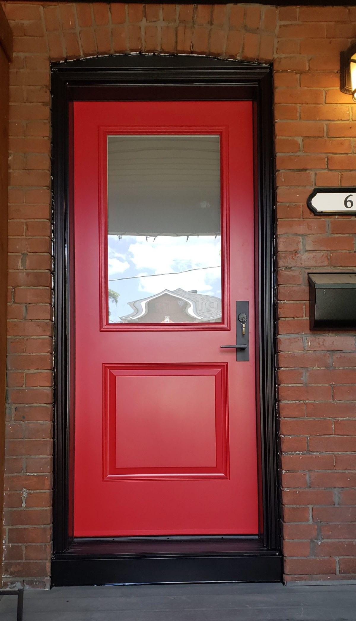 New front door replacement in Toronto