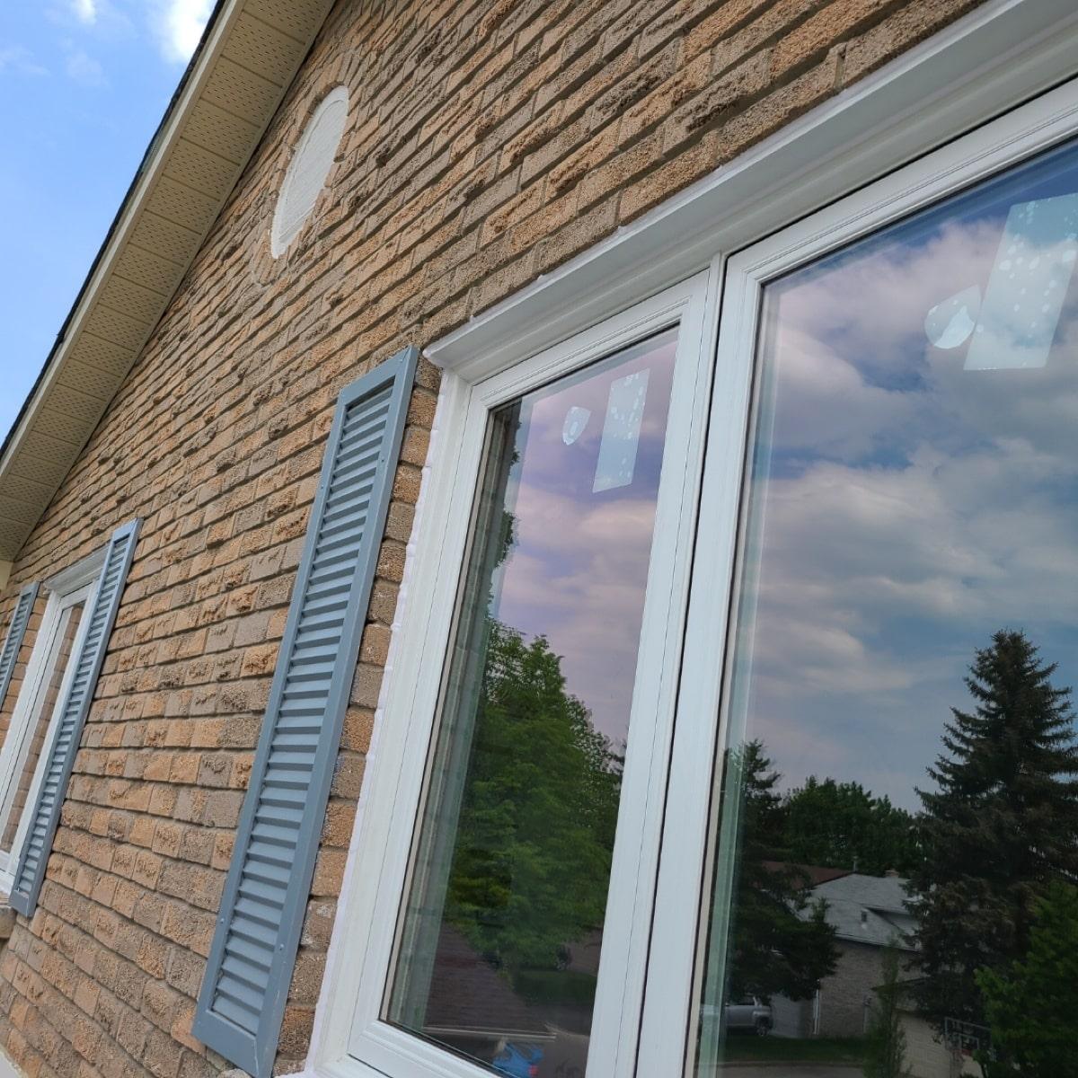 Second Floor Window Replacement in Markham