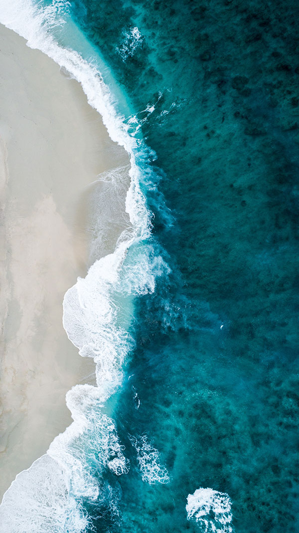 Shoreline from above