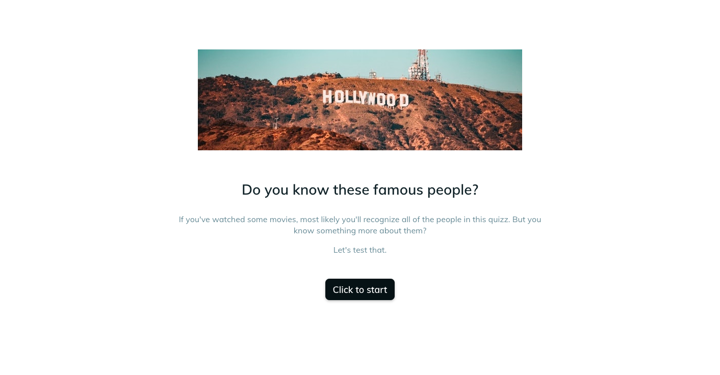 Template example of a famous people  assessment