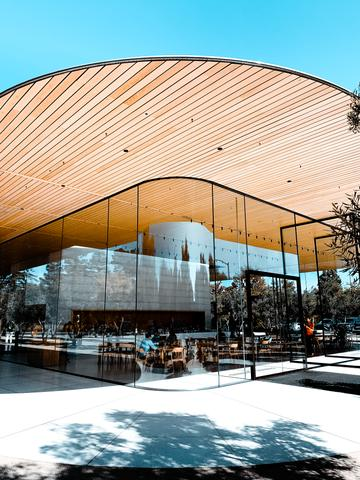 Das Apple Visitor Center in Palo Alto