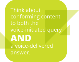 Voice-Delivered Query Quote