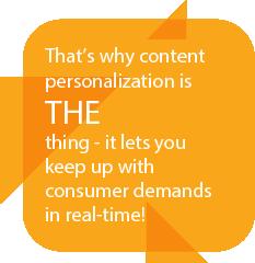 Content Personalization Quote