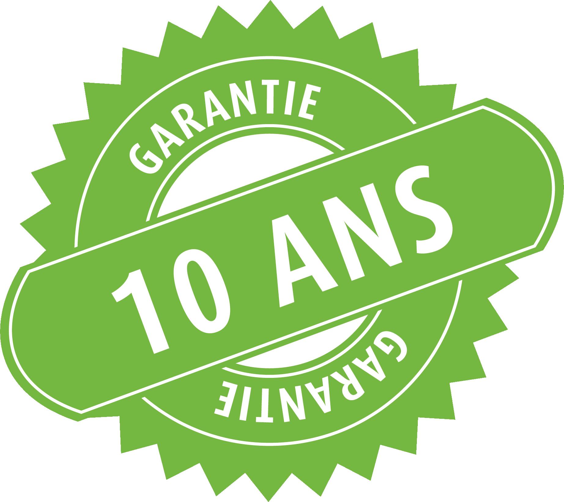 Travaux et garantie de 10ans