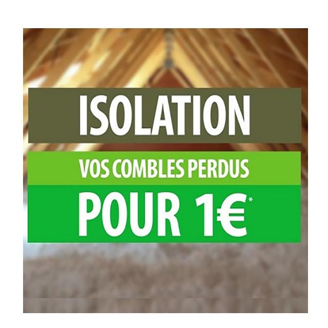 isolation à 1€ image