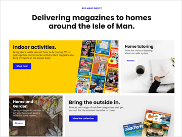 How we launched an online store for a national newspaper and magazine distributor in just one week.