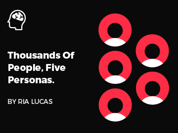 Thousands Of People, Five Personas (A Case Study)