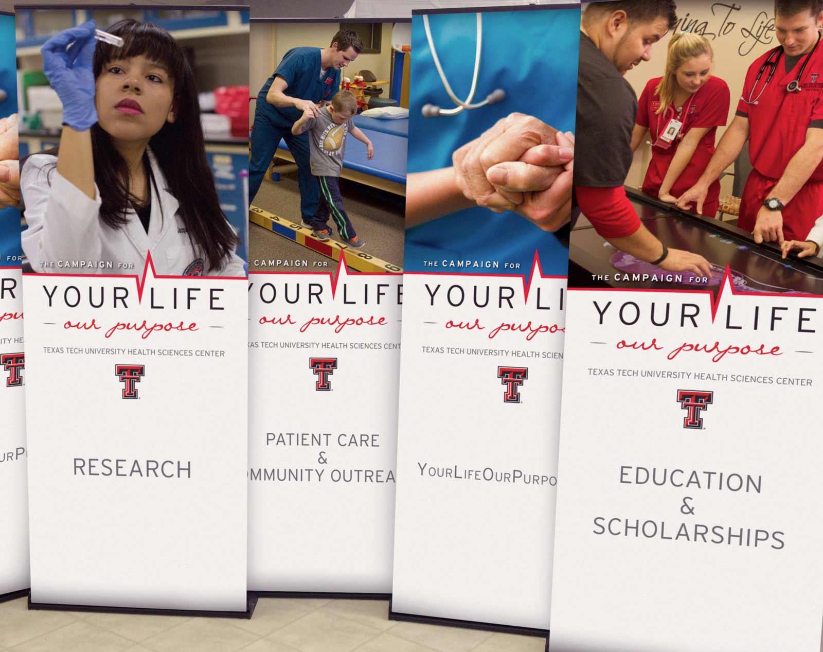 Texas Tech retractable banners