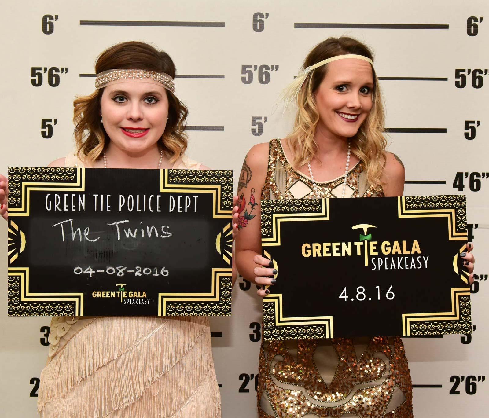 Green Tie Gala attendees