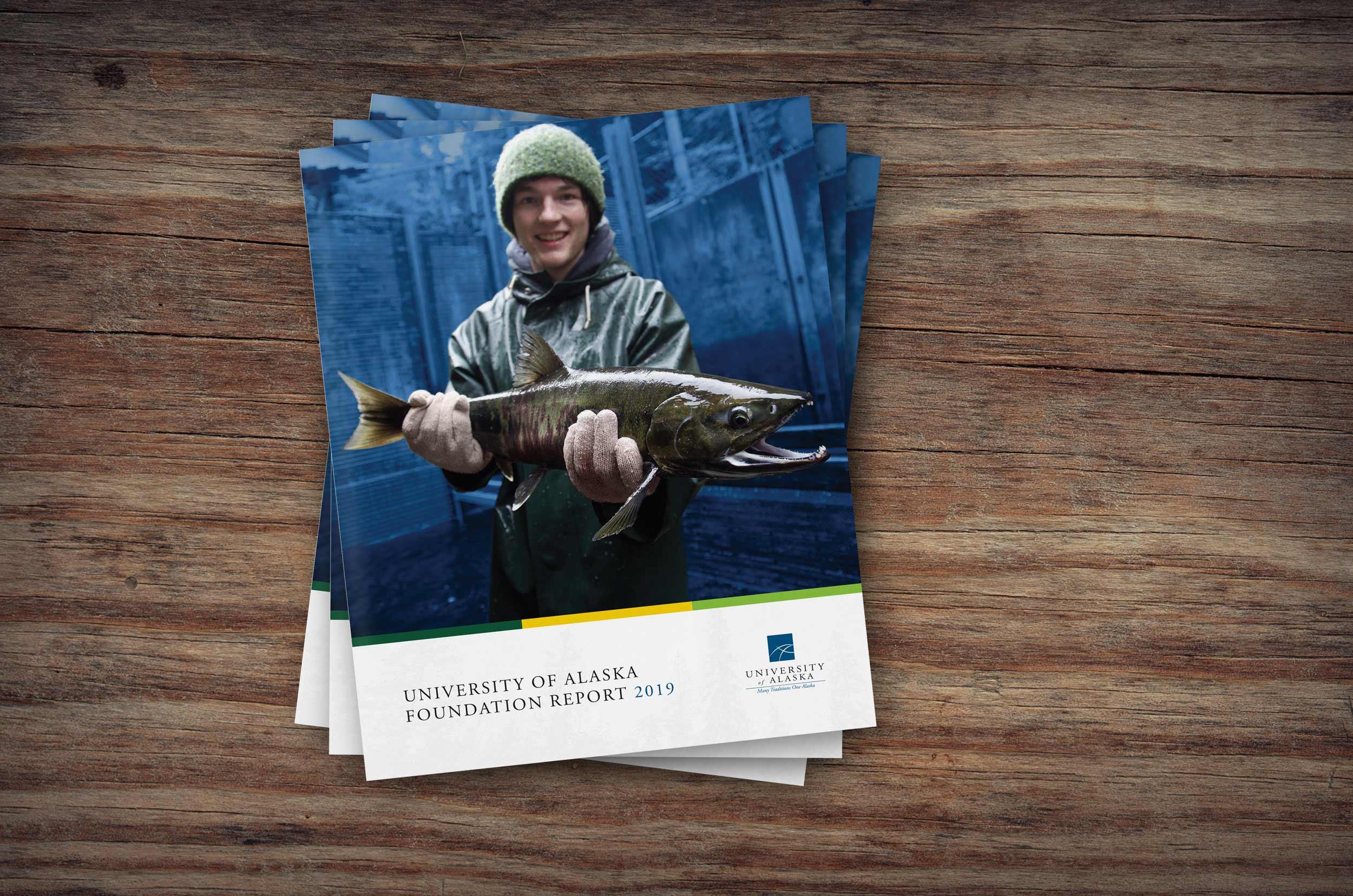University of Alaska annual report cover