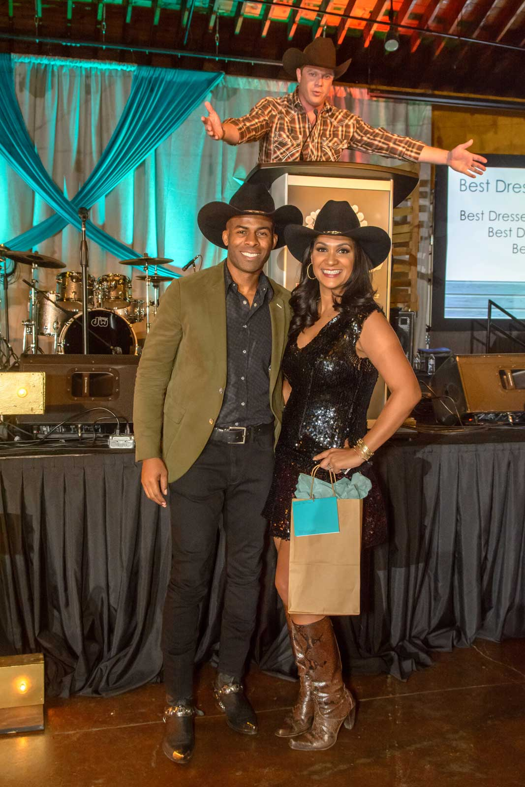 Cattle Baron's Ball attendees
