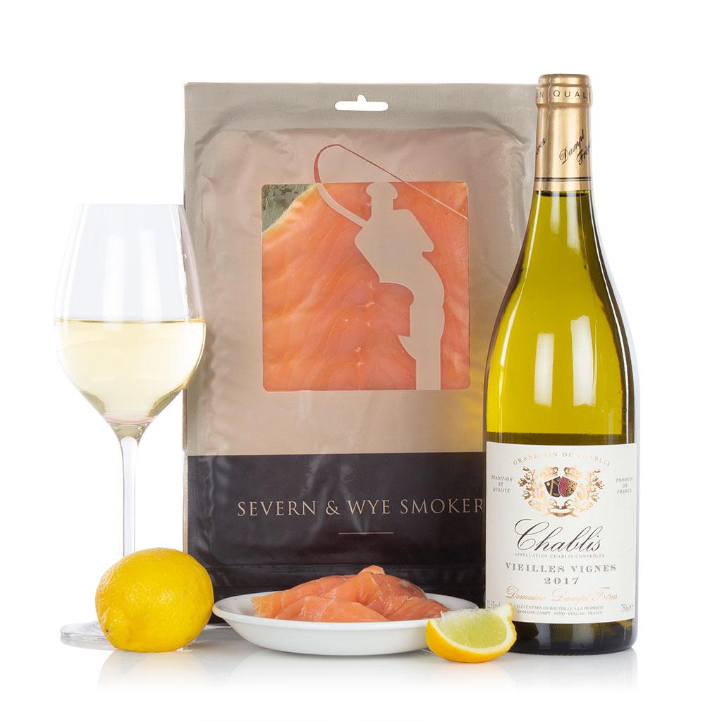 Salmon & Chablis