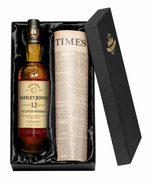 12 Yr Old Malt Whisky for Any Occasion Label