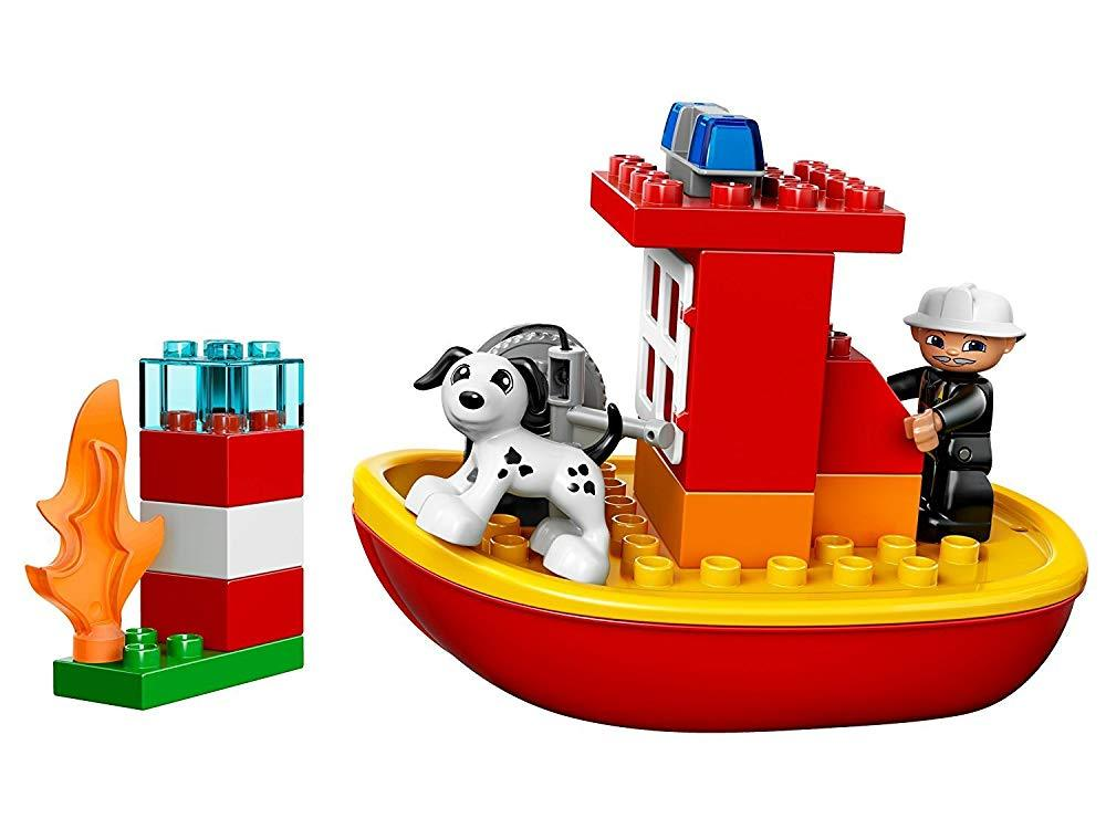 Firefighting Boat LEGO Duplo Set