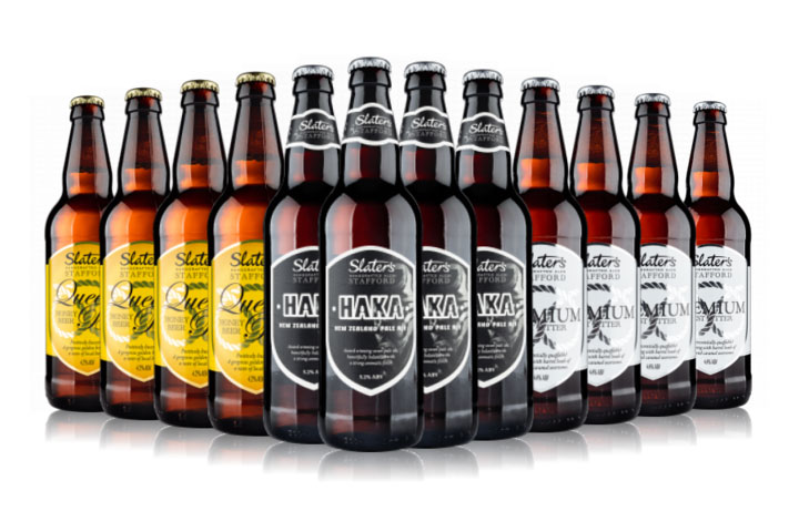 Case of beer from Slater's Brewery