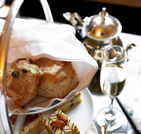Sparkling British Afternoon Tea