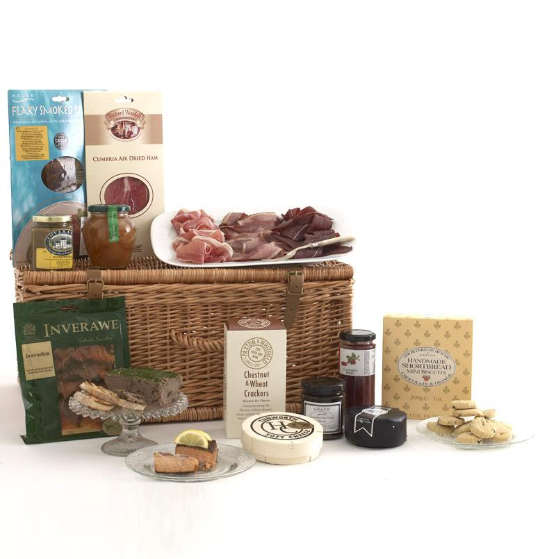 Fine Foods Silverstone Luxury Hamper