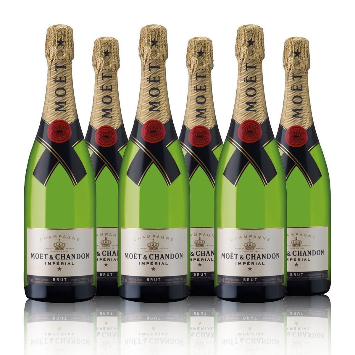 Moet & Chandon Brut Imperial In Gift Box 6 Bottles