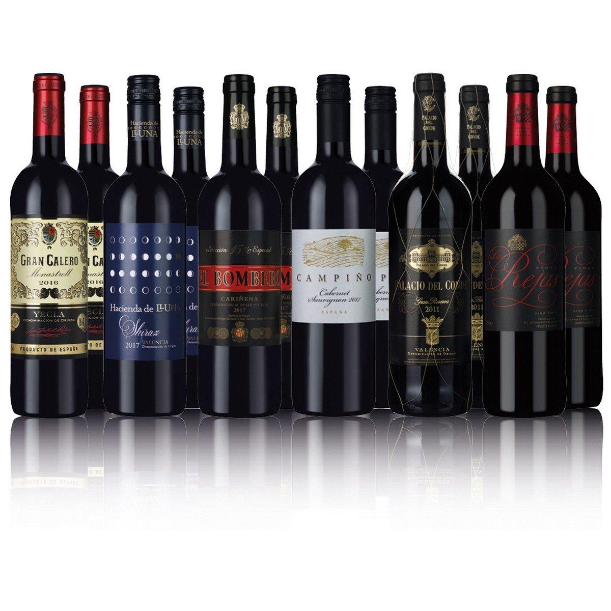 Spanish Reds 12 Bottles