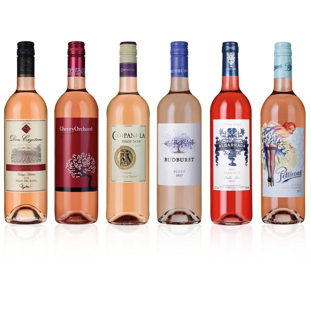 Rose 6 Bottles