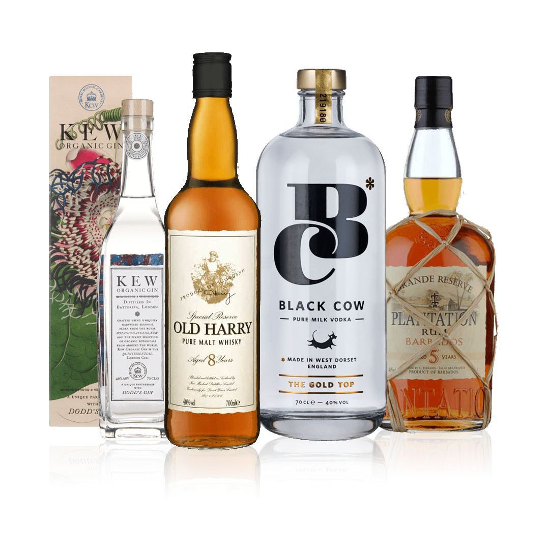 Laithwaites Gin Vodka Rum Whiskey Spirits Set