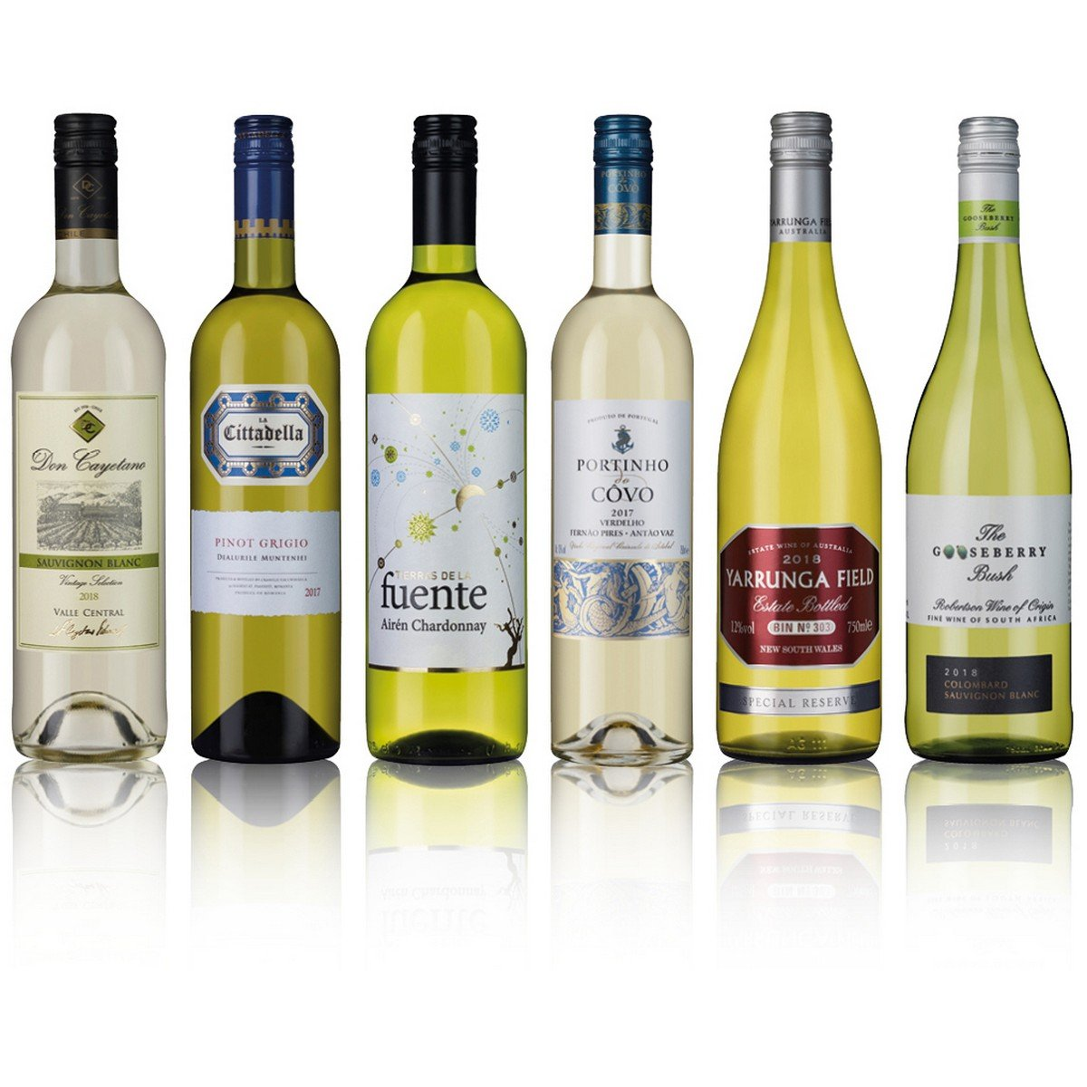 Laithwaites Silver White Wine 6 Bottles