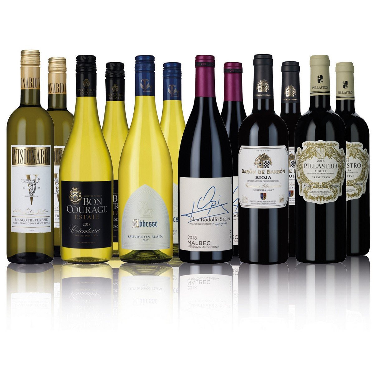 Laithwaites Gold Mixed Wine 12 Bottles