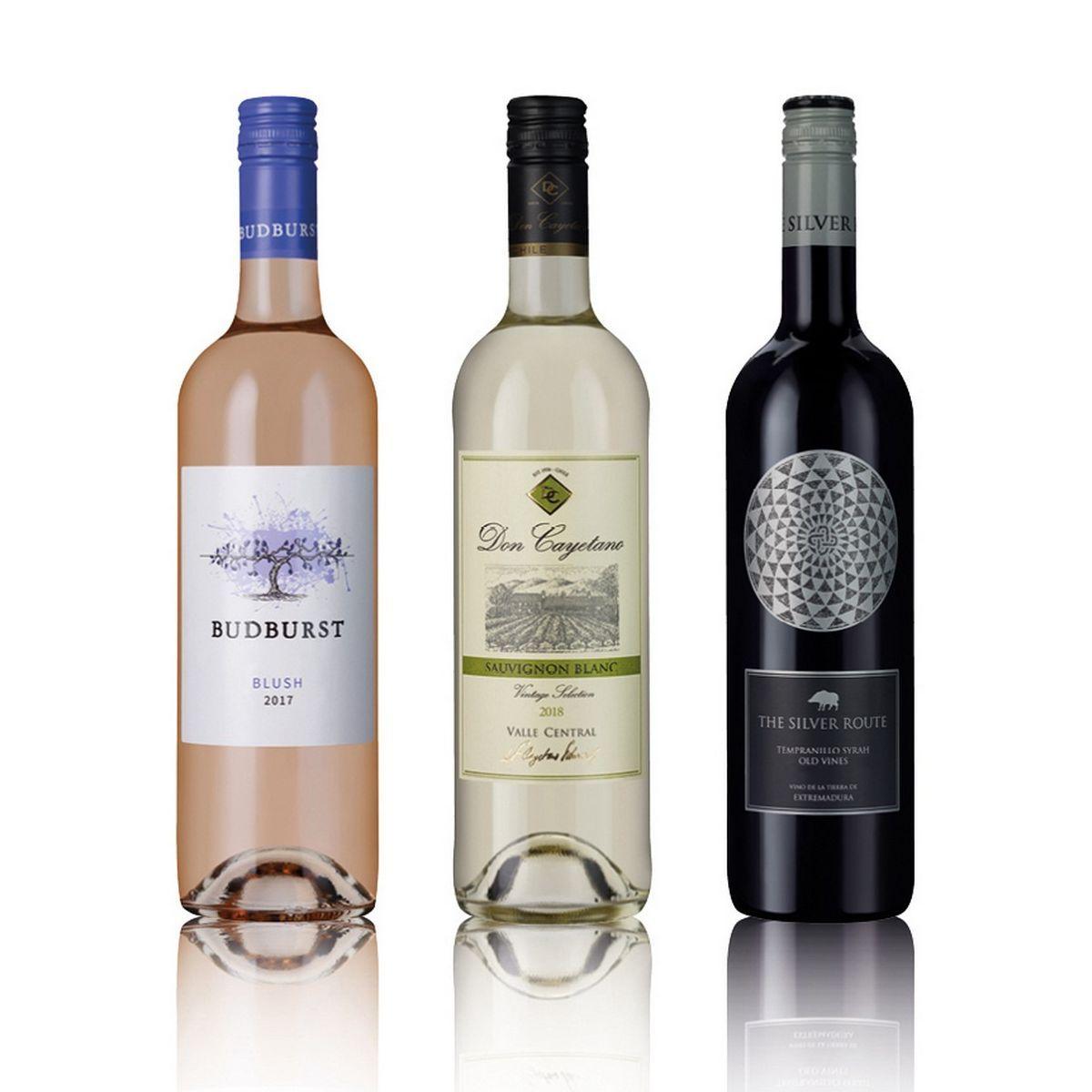 Laithwaites Red White And Rose Mix Wine Trio