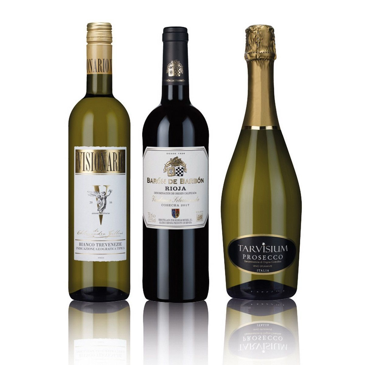 Laithwaites Red & White Wine With Sparkling Trio