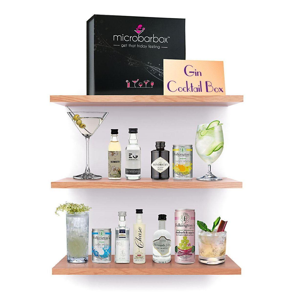 MicroBarBox Gin Cocktail Box