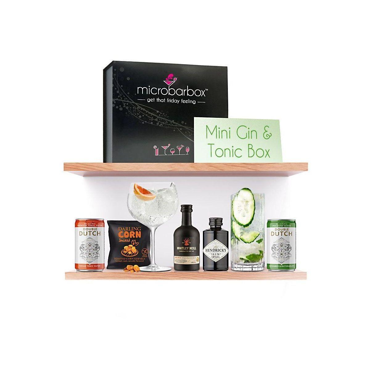 Microbarbox Mini Gin & Tonic Box