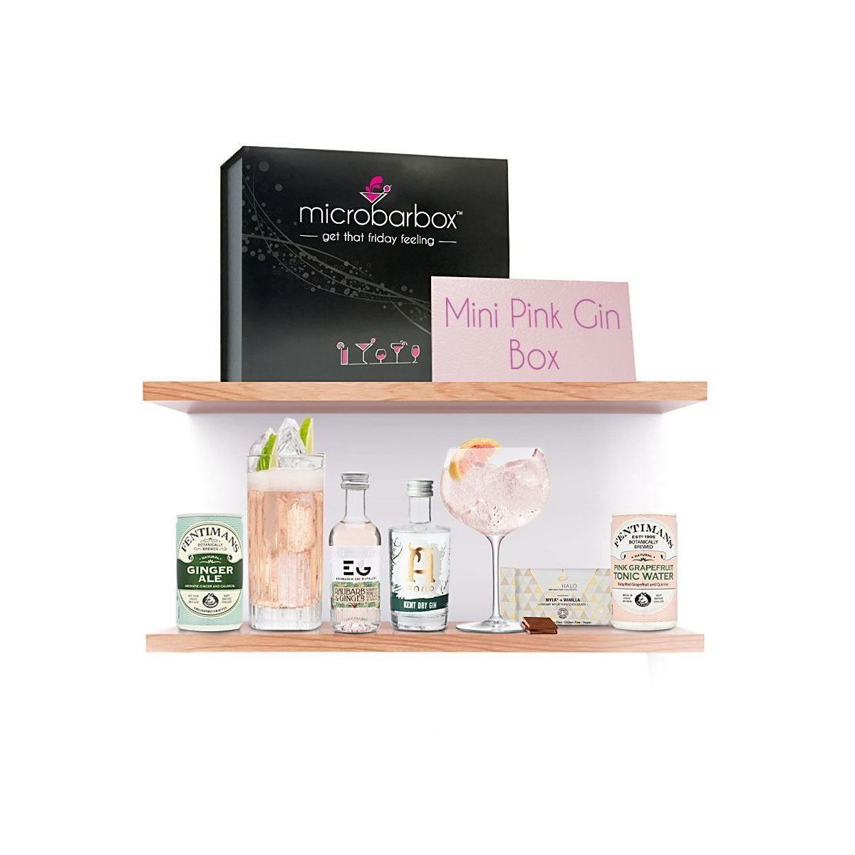 Microbarbox Mini Pink Gin Box
