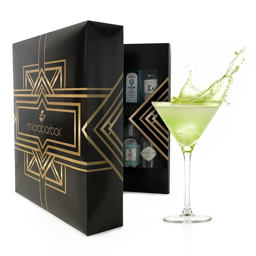 Microbarbox Gin & Champagne Cocktail Cabinet