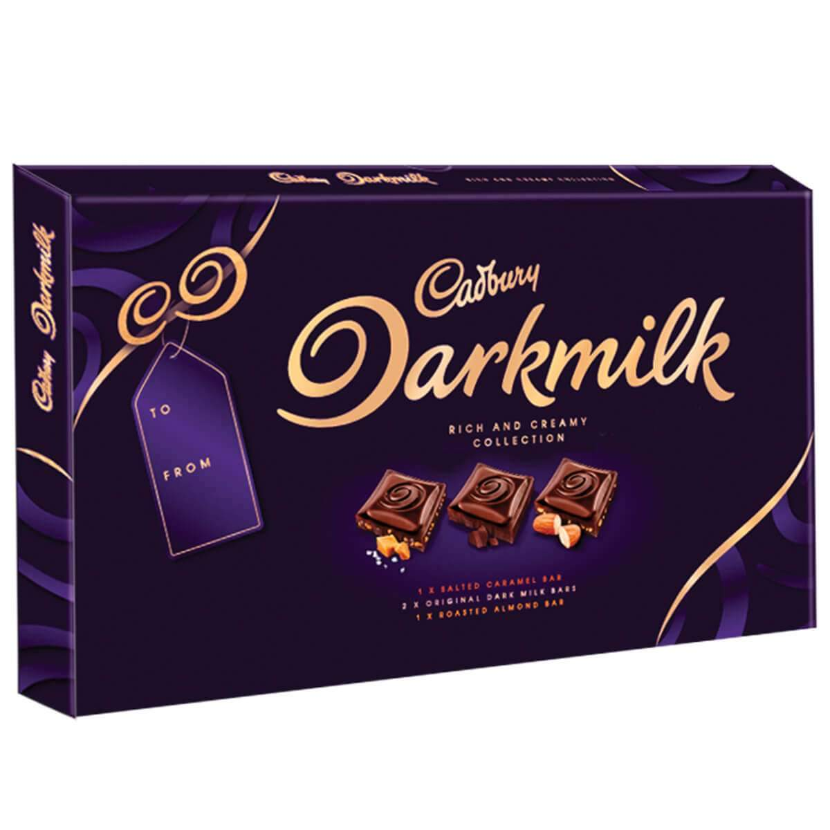 Cadbury Darkmilk Selection Box 340g Box of 8